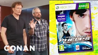 "Clueless Gamer: Conan Reviews ""Michael Phelps: Push The Limit"" - CONAN on TBS"