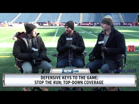Video: NESN Pregame Chat: 2018 AFC Divisional Round, Chargers vs. Patriots, presented by Mimecast