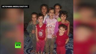 Сириец обвиняет США в убийстве его шестерых детей в результате авиаудара