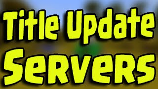 Minecraft PS3, PS4, Xbox - SERVERS! Bigger Multiplayer Title Update with Windows 10