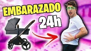 24 HORAS SIENDO PADRE EMBARAZADO!! (Un día siendo padre embarazado)