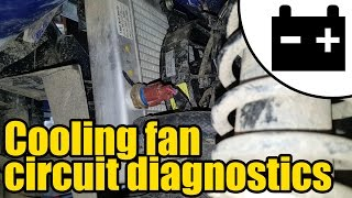 8. Yamaha Grizzly cooling fan fault #1414