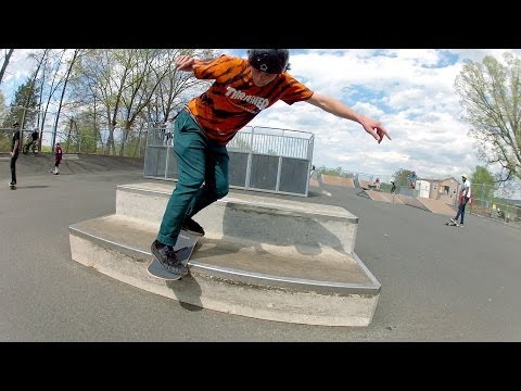 McIntire Skatepark Saturday Fun - Charlottesville, VA Skateboarding GoPro