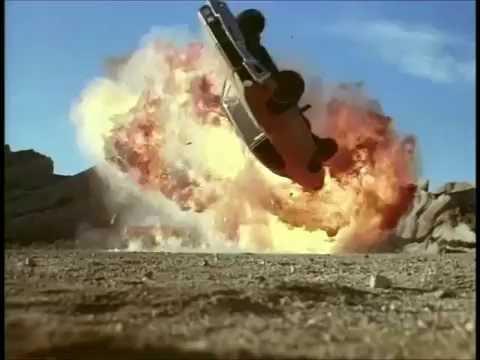 Armed Response (1986) Car Crash