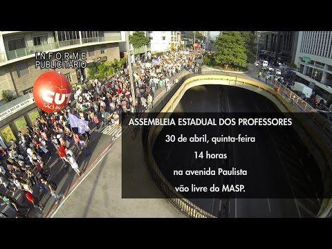 Chamada Assembleia dos Professores 30 de Abril