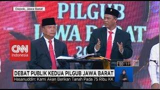 Video Hasanuddin: Kami Akan Berikan Tanah pada 75 Ribu KK | Debat Publik Kedua Pilgub Jabar (2/6) MP3, 3GP, MP4, WEBM, AVI, FLV Juni 2018