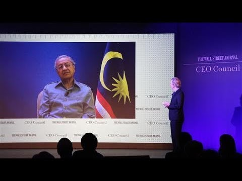 An Exclusive Conversation With Malaysia's New Prime Minister Mahathir Mohamad
