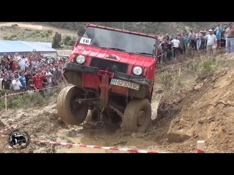 Видео с супервездеходом Pinzgauer Steyr Puch 4x4