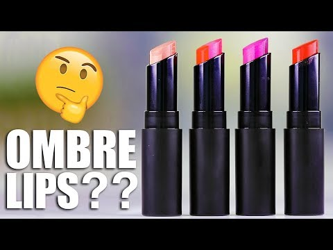 CRAZY OMBRE LUXURY LIPS | Hot or Not