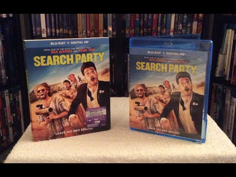 Search Party Blu Ray Unboxing and Review - T.J. Miller