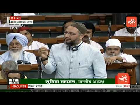 Video Asaduddin Owaisi Speech in Parliament Over No Confidence Motion | Lok Sabha | YOYO TV Channel download in MP3, 3GP, MP4, WEBM, AVI, FLV January 2017