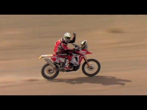 Equipa HRC - Rali Marrocos 2012