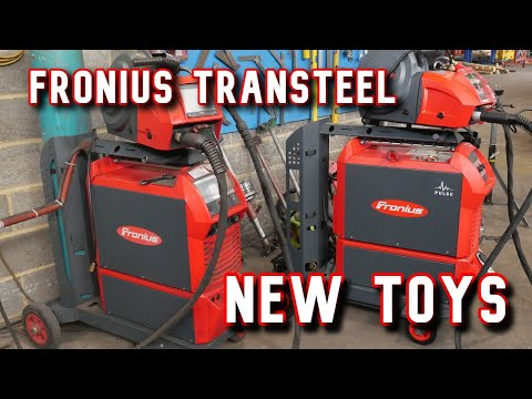 New Toy Fronius TranSteel Multi Process Pulse MIG/MAG,TIG & MMA (Pipe Welding)