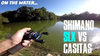 Video SHIMANO SLX BATTLES THE SHIMANO CASITAS ON THE WATER: DOES IT STACK UP OR GET CRUSHED? MP3, 3GP, MP4, WEBM, AVI, FLV Desember 2018