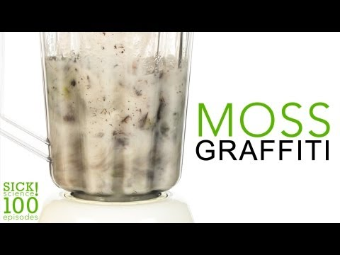 Moss Graffiti - Sick Science! # 100
