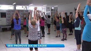Projeto incentiva vida saudável com prática de exercícios e boa alimentação