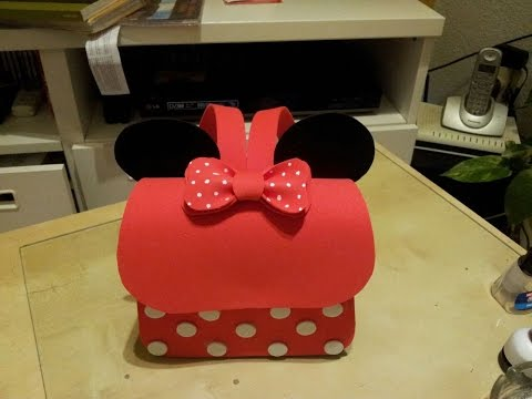 foamy - come creare un mini zainetto di minnie