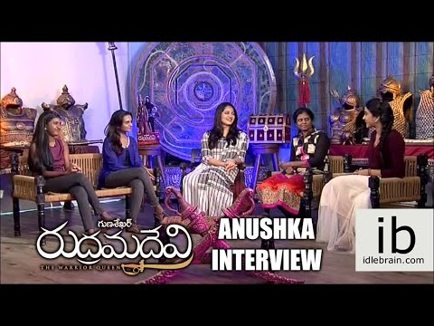 Anushka Interview about Rudramadevi