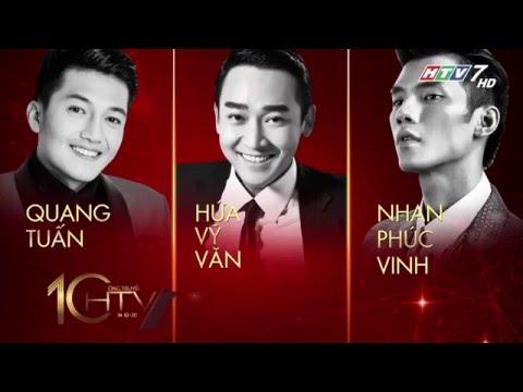 Lễ trao giải HTV Awards lần thứ 10 (Ngày 23/04/2016)