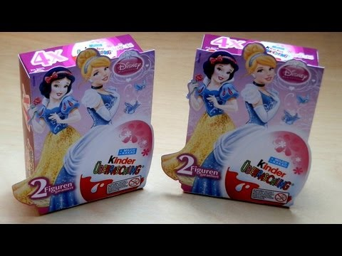 Princess - Kinder Playlist: http://www.youtube.com/playlist?list=PLslpQQtsPp-Ni03rcTKtNcRCEyP5kr8kK Please rate this product: http://www.junkfoodtaster.com/?p=2723 (plu...