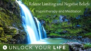 This is an updated version of Release Limiting and Negative Beliefs and any subconscious negativity.   There are some updates to help with even deeper release of any mental blocks that are preventing you from living the life you deserve.This takes you on a journey through a tropical rainforest to an oasis of a healing pool and cleansing waterfall to wash away any limiting and negative beliefs.This transitions to sleep at the end to allow you to rest and continue to peacefully release anything else.  Think Yourself Slim playlist: http://bit.ly/2dFmAM5Deep Sleep playlist: http://bit.ly/2dDf1oUPositive Daily Affirmations: http://bit.ly/2evKyqMSetting Boundaries and Assertiveness: http://bit.ly/2dTttYKHealing Hypnosis: http://bit.ly/2dWzBE2Self-Esteem playlist: http://bit.ly/2dOt9NFMeditations on Challenging Emotions: http://bit.ly/2oy6ckNSpiritual Hypnosis playlist: http://bit.ly/2dOtMXoIf you enjoyed day 1 of the Think Yourself Slim Program, you can get ALL 21 meditations, affirmations and coaching mp3s in the high impact 7 Day Think Yourself Slim Program here:http://www.thinkyourselfslim.com for just $69.90 USD, http://www.thinkyourselfslim.com/eu for just €59.99http://www.thinkyourselfslim.com/uk for just £49.99Get $5 off a minimum $25 purchase on all mp3s (excluding the Think Yourself Slim Program) by using code UYL5 at www.unlockyourlifetoday.comSubscribe to Think Yourself Slim's Youtube Channel:http://bit.ly/1NbGwlXConnect on Facebook and gain access to exclusive offers and the occasional mp3 gift: http://www.facebook.com/unlockyourlifetodayUnlock Your Life Mp3s on iTunes: https://itunes.apple.com/artist/unlock-your-life/id1034660915Think Yourself Slim MP3s on iTunes:https://itunes.apple.com/artist/think-yourself-slim/id1009734404-----------------------------------------------------You must be of adult age in your state, or country or gain caregiver or parental approval to listen. These recordings are intended for relaxation, self-improvement and entertainment purposes only.   Hypnosis is not a replacement for any counseling or psychotherapy.  These recordings do not diagnose, cure or prevent any mental or physical health condition or illness or prevent any illness or condition of the body or mind, they cannot tell you what will happen to you in the future.  If you think or know you have a health issue, talk to your doctor before listening to any part of this recording.  Never delay, change or stop any treatment, medication or regime without consulting with your doctor or health care professional first.  Never change your lifestyle, including but not limited to diet, exercise, sleep or anything else without consulting with your doctor first and following his or her advice. If you ever feel unwell at any time while listening to these recordings, you must seek immediate medical attention.  You should continue taking regular medical check-ups.If you know you have any kind of mental health issues, you should NOT buy or listen to any of our hypnosis recordings. If you wish the benefits of hypnotherapy, ask your counselor or therapist.By listening to this recording you confirm that you have checked any suspected or confirmed mental or physical health condition with a doctor and you accept full responsibility for all outcomes.  You understand that hypnosis is merely a process of suggestion and you can always accept or reject the suggestions you receive.  You are always in control.   All hypnosis is self-hypnosis.  Therefore we cannot guarantee, (a) that you will get any results at all or; (b), that any results you do get will be permanent.Please only ever listen to any of these recordings when you are in a quiet space, ideally at home or in a quiet room.  Never listen to any of these recordings while driving or operating machinery or when required to remain alert to your environment as you may become very relaxed and may even fall asleep.All recordings are best listened to on headphones.All scripts are unique and protected by copyright law by © Sarah Dresser 2015 / 2016 /2017 and may not be transcribed, re-used or re-recorded in part or whole whether for public or private practice use.  All recordings are also copyright protected and are not permitted for public broadcasting, or any form of paid or unpaid distribution other than for private, individual use.  These recordings may be removed or deleted at any time with no notice.