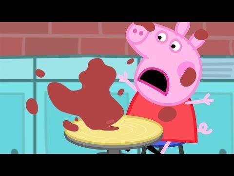 Peppa Wutz  Töpfern mit Peppa  Peppa Pig Deutsch Neue Folgen  Cartoons für Kinder