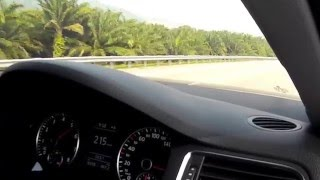 Lenggeng Malaysia  city photos gallery : VW Jetta 1.4tsi top speed (Malaysia) REV0