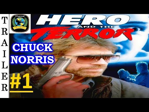 Hero And The Terror - 1988 - Trailer #1 HD 🇺🇸 - CHUCK NORRIS.