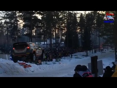 Robert Kubica - SS14 SLOW-MOTION Colin's Crest - Rally Sweden 2015 [HD]