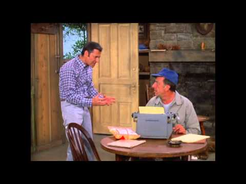 The Odd Couple--I'm Dying of Unger segment (with singing!)