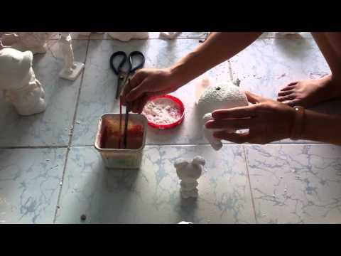 Hướng dẫn sữa lỗi tượng tô màu thạch cao - TÔ TƯỢNG VĨNH PHÁT