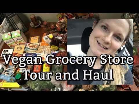 Vegan Grocery Store Tour And Haul | Superstore
