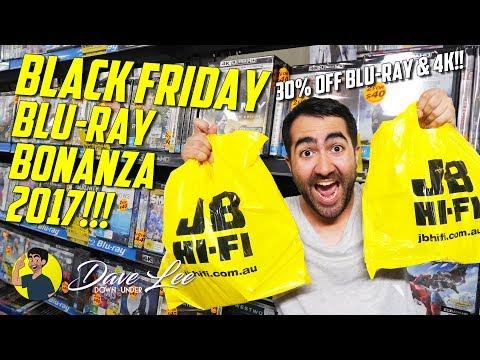 BLACK FRIDAY BLU-RAY (and 4K) BONANZA HAUL 2017!!