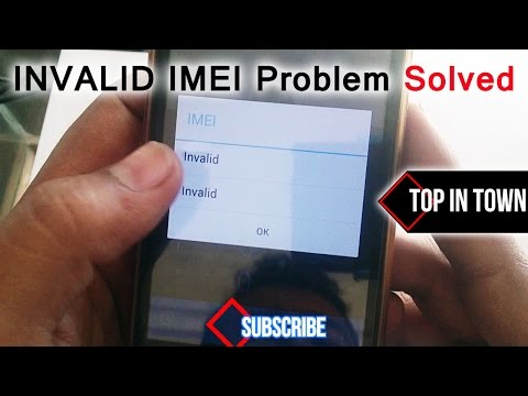 Invalid Imei Android Solution