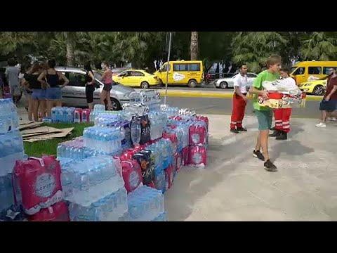 «Τσουνάμι» αλληλεγγύης για τους πληγέντες από τις πυρκαγιές…