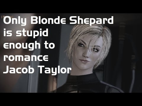 ME3: Blonde Femshep Betrayed By Jacob Taylor (Love Interest)
