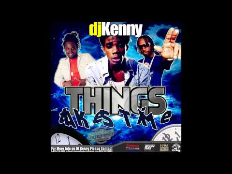 Community Magazine – DJ KENNY THINGS TAKES TIME DANCEHALL MIX OCT 2014