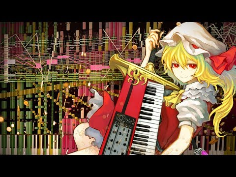 Synthesia: Touhou 6 - UN OWEN WAS HER? | 88,000 Notes! | Black MIDI