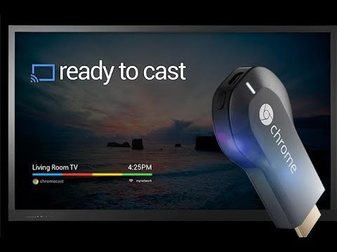 how to sync chromecast