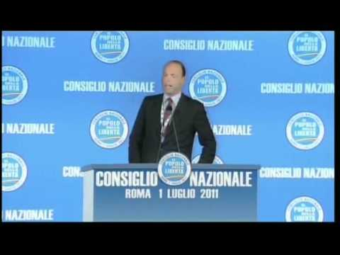 Video of Angelino Alfano