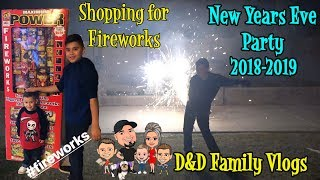 Video SHOPPING for FIREWORKS | NEW YEARS EVE 2018 | D&D FAMILY VLOGS MP3, 3GP, MP4, WEBM, AVI, FLV Maret 2019