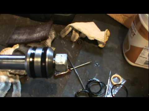 hydraulic cylinder rebuilding