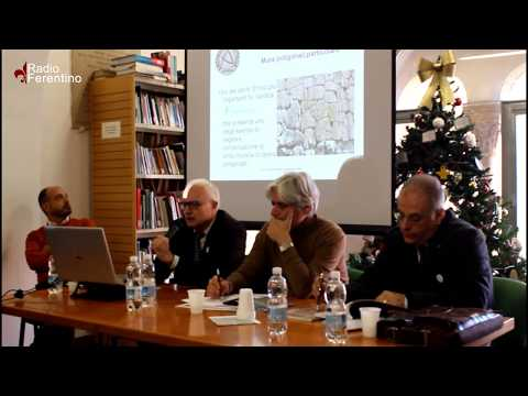 Ferentino: dove le pietre parlano, l'introduzione del Dr. Antonio Ribezzo