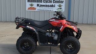 9. $4,299:  2014 Arctic Cat 300 in Red