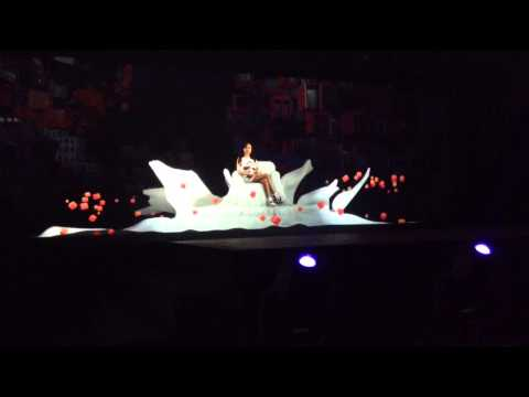 2NE1 Hologram Concert – Fire (2013 London KBEE)