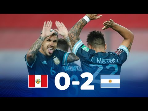Eliminatorias |  Argentina vs Perú | Fecha 4