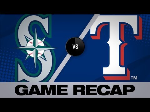 Video: Mariners hit 3 homers in 11-3 win over Texas | Mariners-Rangers Game Highlights 9/1/19