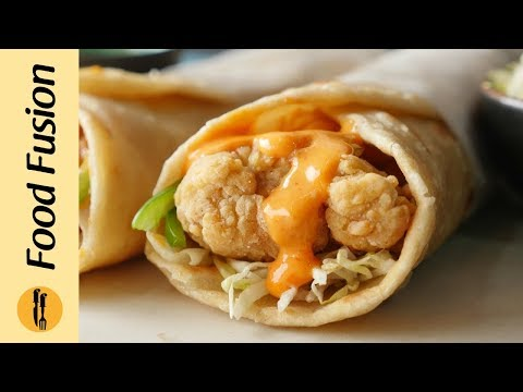 Crispy Chicken Paratha Roll Recipe By Food Fusion (Ramzan Special Recipe)