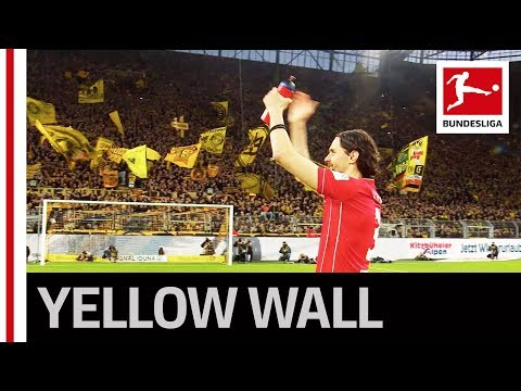 Dortmund Fans Celebrate Old Boy Neven Subotic