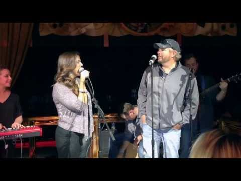 Toby Keith- father/daughter duet